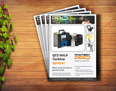 Business Flyer Design with free mockup