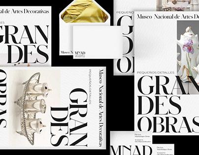 Museo Nacional de Artes Decorativas | Rebranding