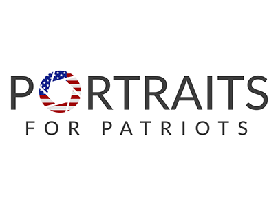Portraits for Patriots Logo Design