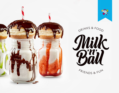 Milk'n'Ball | Drinks & Food