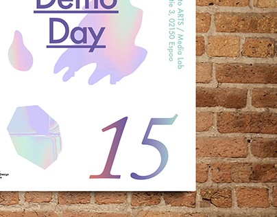 Media Lab Demo Day 2015 poster