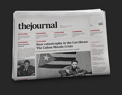 The Journal - Contemporary Newspaper