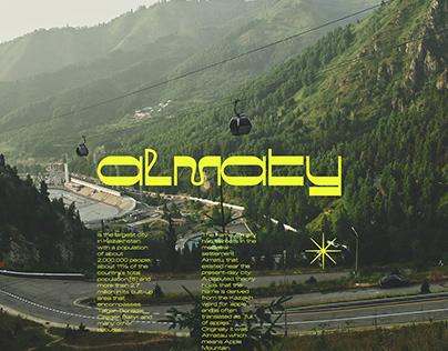 Almaty City Branding Concept