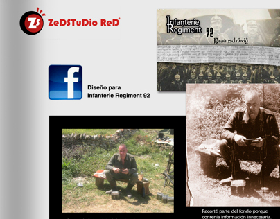 Photoshop Work for Infanterie Regiment 92