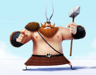 Viking - Character design.