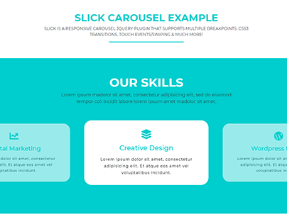 SLICK CAROUSEL EXAMPLE