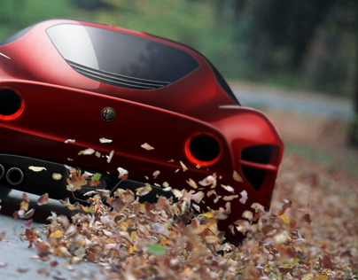 Alfa Romeo 33 Stradale Redesign