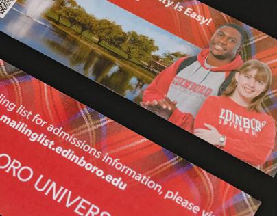 Tartan Card: Mailer Promoting Edinboro University