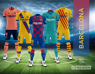 Barcelona 2019/2020 Kits (Released and Concept)