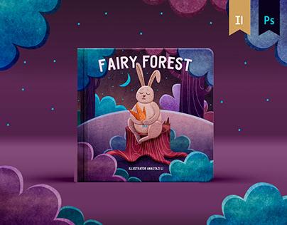 FAIRY FOREST. Children's book concept.