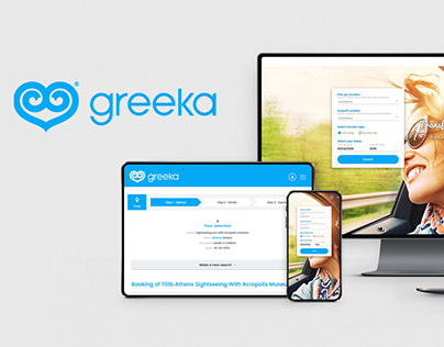 Project Greeka transfers & tours | Redesign & Theming