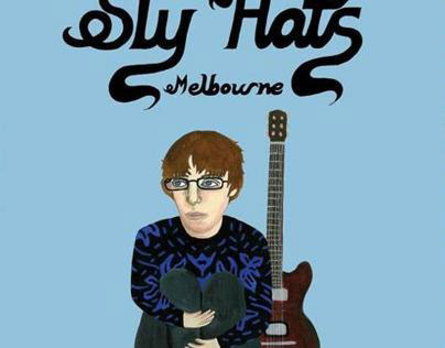 Sly Hats Poster