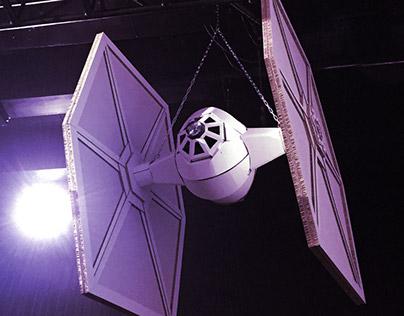 Star Wars – Cardboard Spaceships