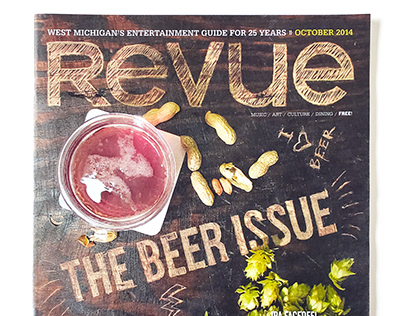 Revue Magazine | Beer Issue cover