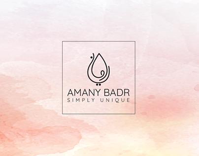 Amany | Logo Name