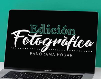 Edición fotográfica - Panorama Hogar