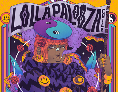 Lollapalooza Chile 2018 Poster