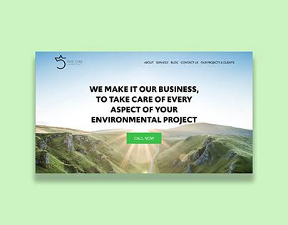 Five Star Environmental - Website Design