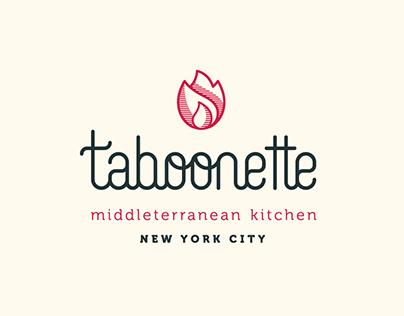 Taboonette branding