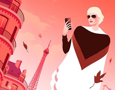 Walking in Paris - Personal