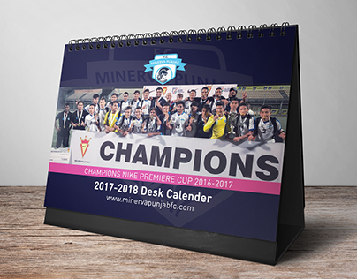 Minerva Punjab FC Desk Calendar