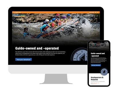Outdoor Adventures Company Website