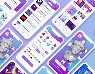 App concept for inspiration