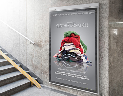 CLOTH DONATION POSTER