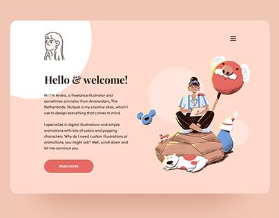 New website - stutpak.com