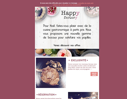 Newsletter : Happy factory