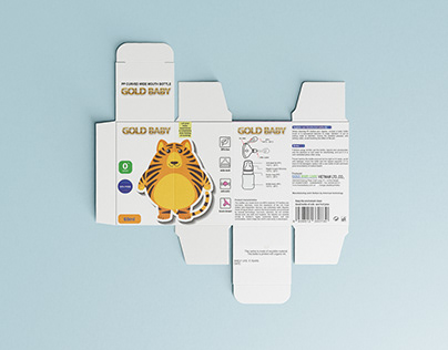 Packages of Milk Bottle GOLD BABY - 10q.vn
