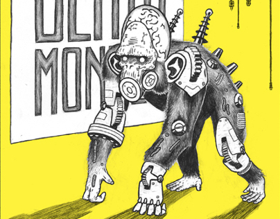 Sonic Death Monkey gig poster