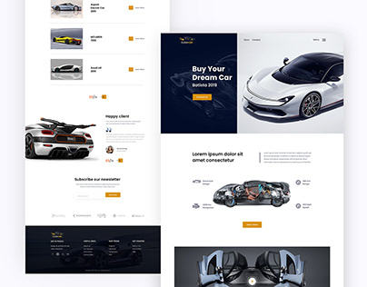 Automotive Website Concept