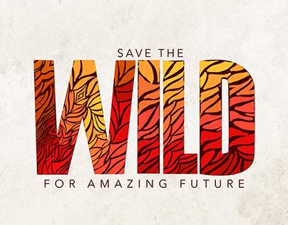 Wild - Typography Poster