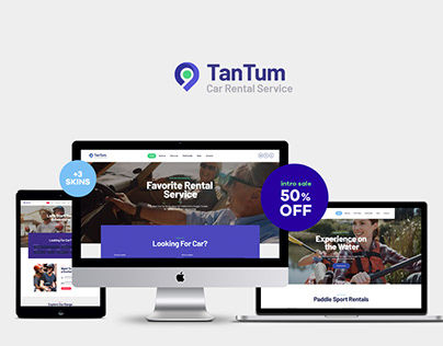 TanTum | Car & Scooter Rental Services WP Theme