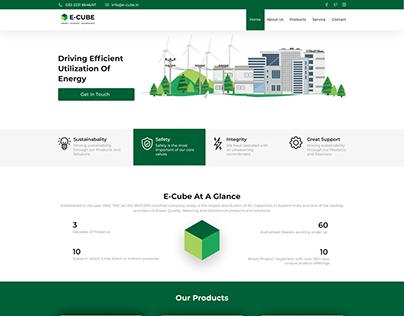 E-Cube Website