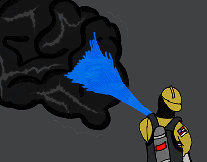 Illustration Friday Topic: Smoke