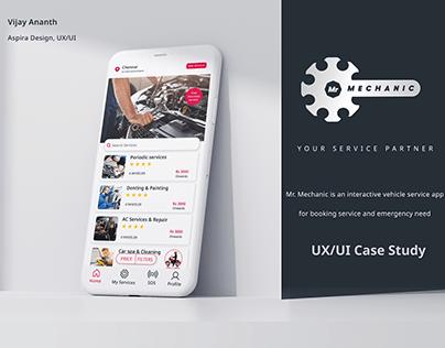 Mr.Mechanic UX/UI CASE STUDY