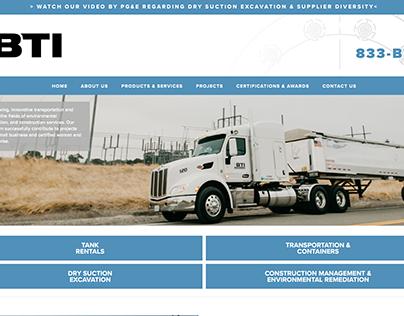 BTI Environmental | Website Design Squarespace