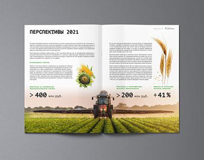 Годовой отчет для агрохолдинга «Энергомера»