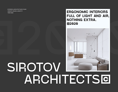 ARCHITECTS & INTERIOR STUDIO – website redesign
