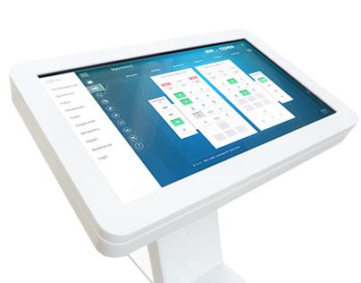 HMI - multitouch software