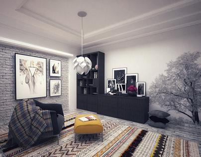 Reading Room - Interior Design