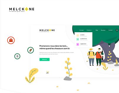 Melckone - Website