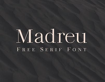 MADREU – Free Modern Serif