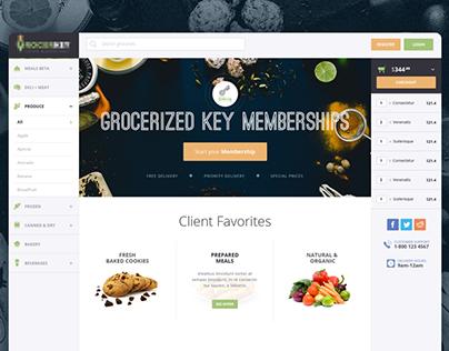 E-Commerce Groceries WebApp