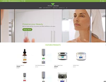 Web Design - InvisiNatural LLC
