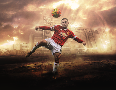 Wayne Rooney // Wallpaper