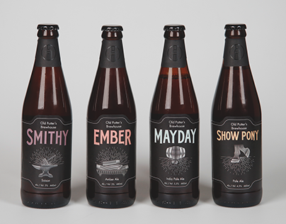 Old Potter's Brewhouse Rebranding - 2018