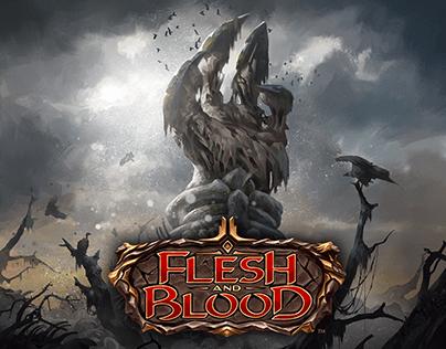Flesh and Blood art